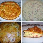 Пирог к завтраку