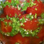 Вкусные маринованные помидоры в стиле «Ню»