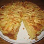 Пирог с яблоками «Неженка»