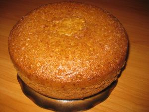 Медовый бисквит для торта