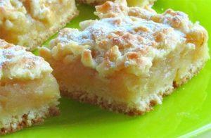 Обалденный яблочно-лимонный пирог