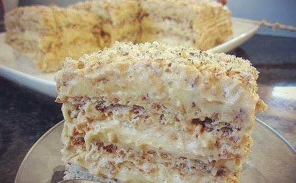 Потрясающий египетский торт