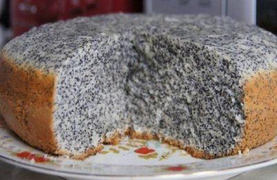 Мой фирменный пирог маковник  Быстро, просто и невероятно вкусно!