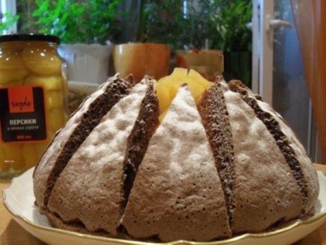 """Торт """"Килиманджаро"""" просто тает во рту! Воздушный и пышный! Ммм..."""
