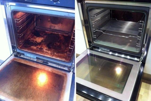 Чистим духовку: 11 способов