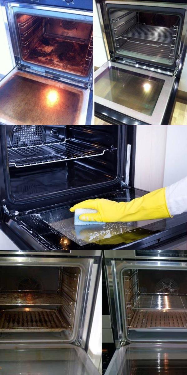 Чистим духовку 11 способов