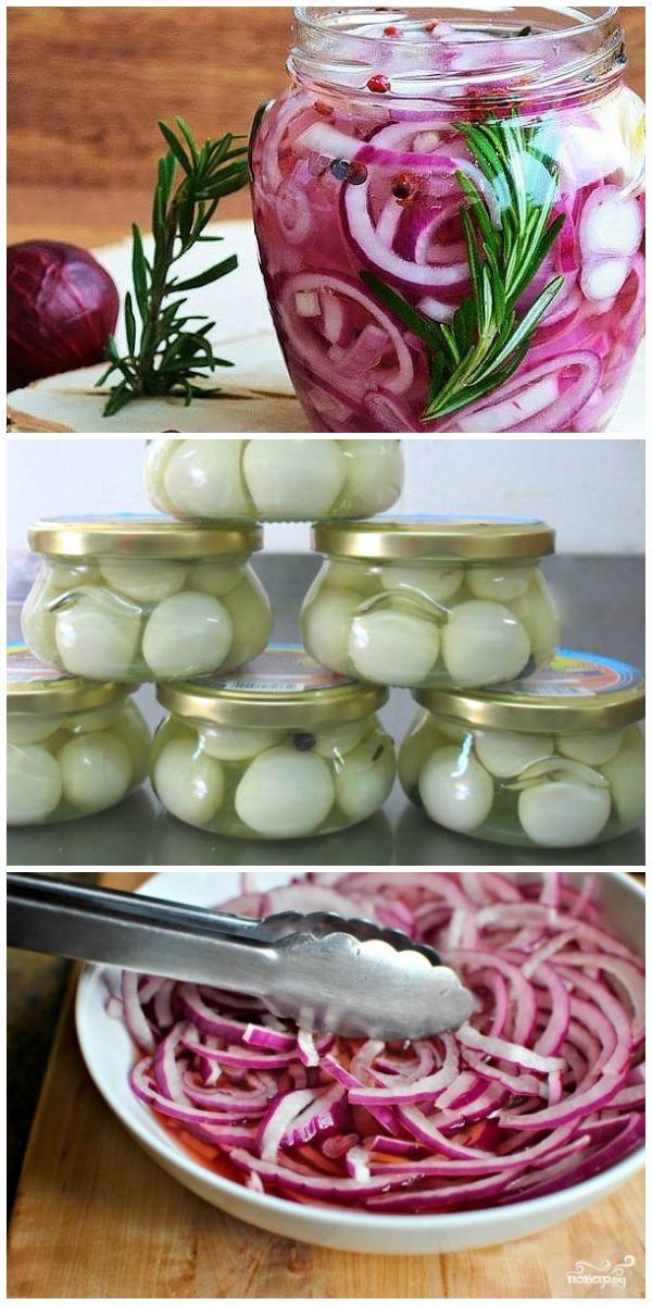 Маринованный лук в банке: узнала об этом рецепте у шеф-повара на Мальдивах.