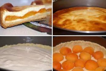 Ммм... Творожный пирог с абрикосами! Обалденный рецепт! Просто находка летом! Очень вкусно!