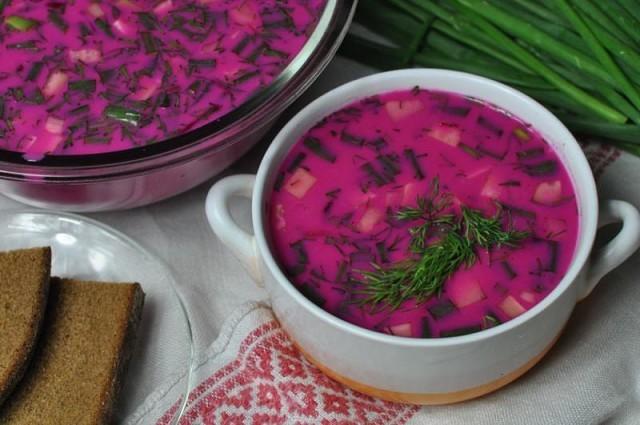 Вкусный летний холодник - это настоящее спасение в летнюю жару! Этот суп освежает, охлаждает, насыщает!
