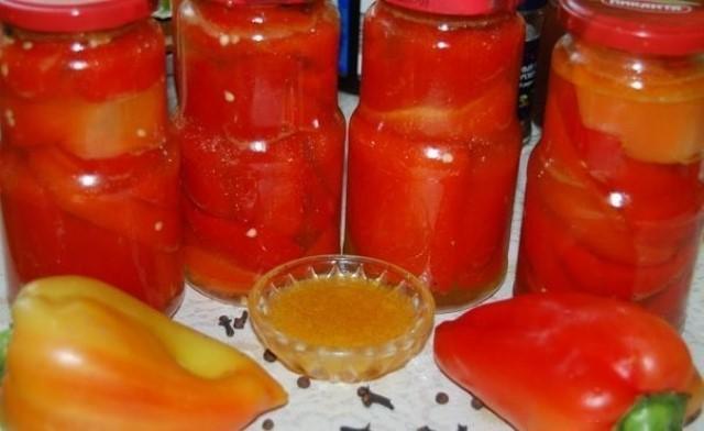 Закуска-бомба: болгарский перец в медовом маринаде. Такой перчик зимой будет отличным дополнением к любому гарниру.