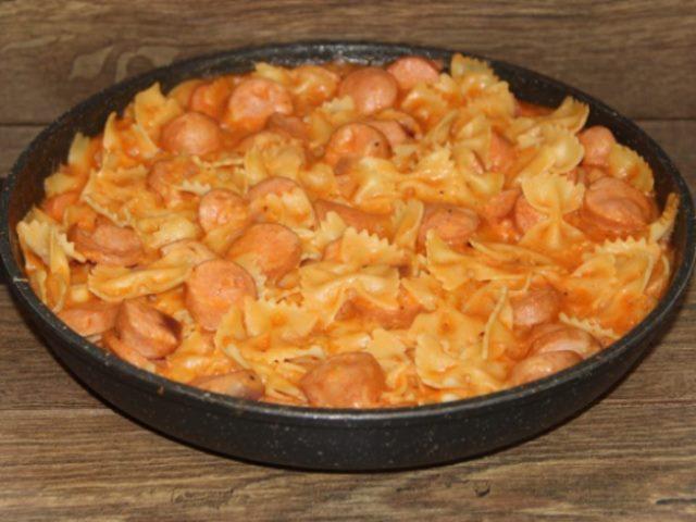 Хоть каждый день готовь! Быстрое, вкусное и доступное блюдо с макаронами!