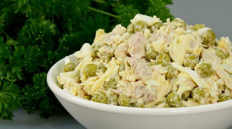 Салат ЦЫПОЧКА Моя тётя всегда готовит его вместо Оливье