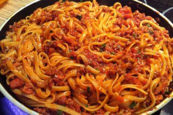 """Спагетти с соусом """"Болоньезе"""" по-новому. Сколько я искала этот рецепт!"""