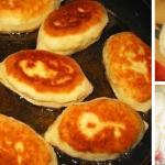 Пирожки на сметанном тесте фото