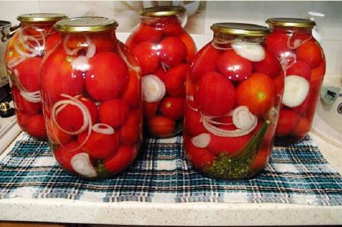 Самый вкусный рецепт маринованных помидоров на зиму