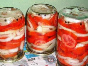 Отличная закуска из помидоров