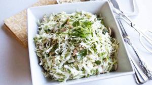 Вкусный салат для сушки тела