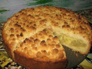 Вкуснейший царский яблочный пирог на песочном тесте