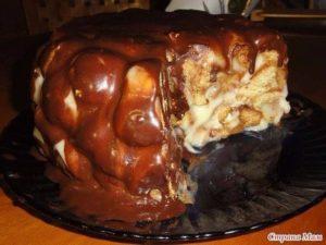 Рецепт домашнего тортика родом из детства «Медовые шарики»