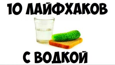 10 лайфхаков с водкой: пост о народной любимице