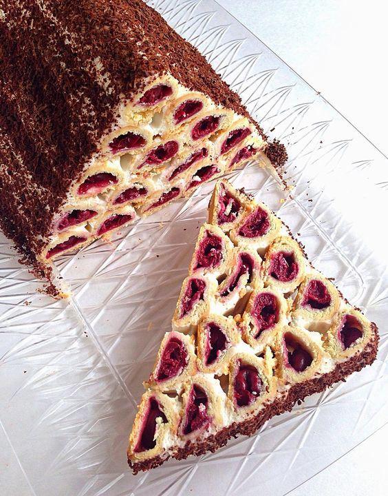 """Домашний торт """"Монастырская Изба"""" или """"Дрова под Снегом"""""""