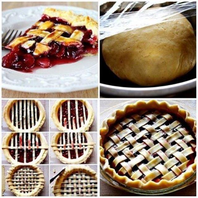 Вишневый пирог с этой огненно-красной ягодой обязательно придется по вкусу и деткам, и взрослым.