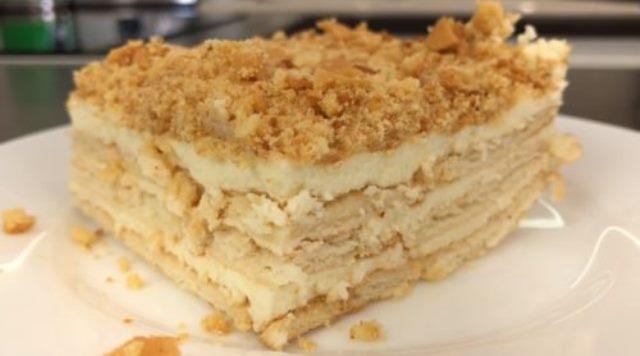 Торт с секретом без выпечки. Вкус напоминает праздник!