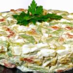 Гости в изумлении из чего этот салат «Боярский».