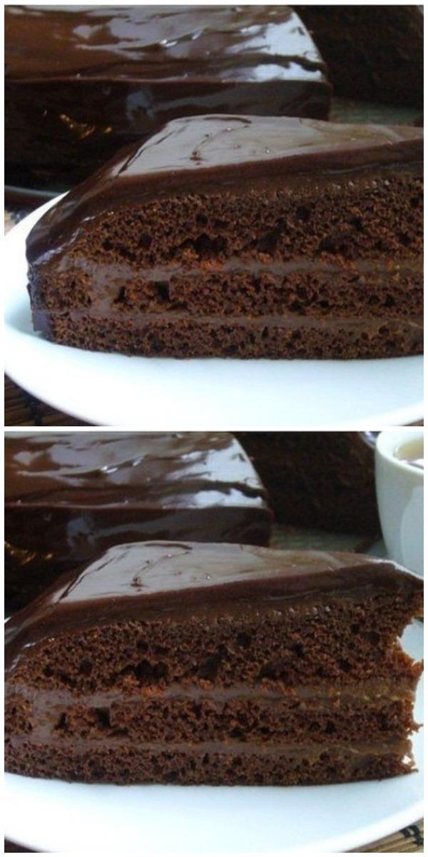 Быстрый шоколадный торт! Этому рецепту очень много лет! Проверено и ВКУСНО!
