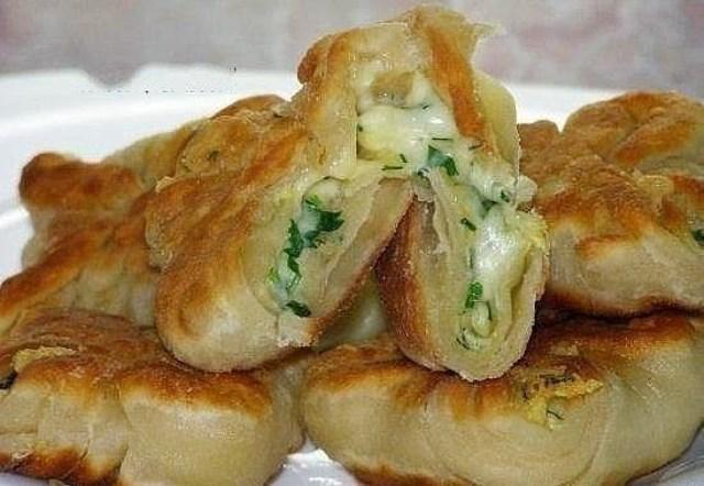 Обалденные конвертики с сыром и зеленью, ДЛЯ ТЕХ, КТО НЕ ЛЮБИТ СЛОЖНЫХ РЕЦЕПТОВ!