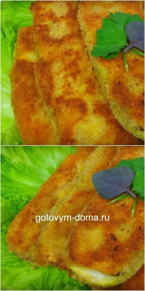 Капустные шницели — новое и оригинальное блюдо из кабачков.