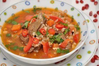 Суп харчо - мое коронное первое блюдо