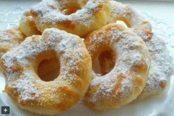 Обалденные пончики на кефире