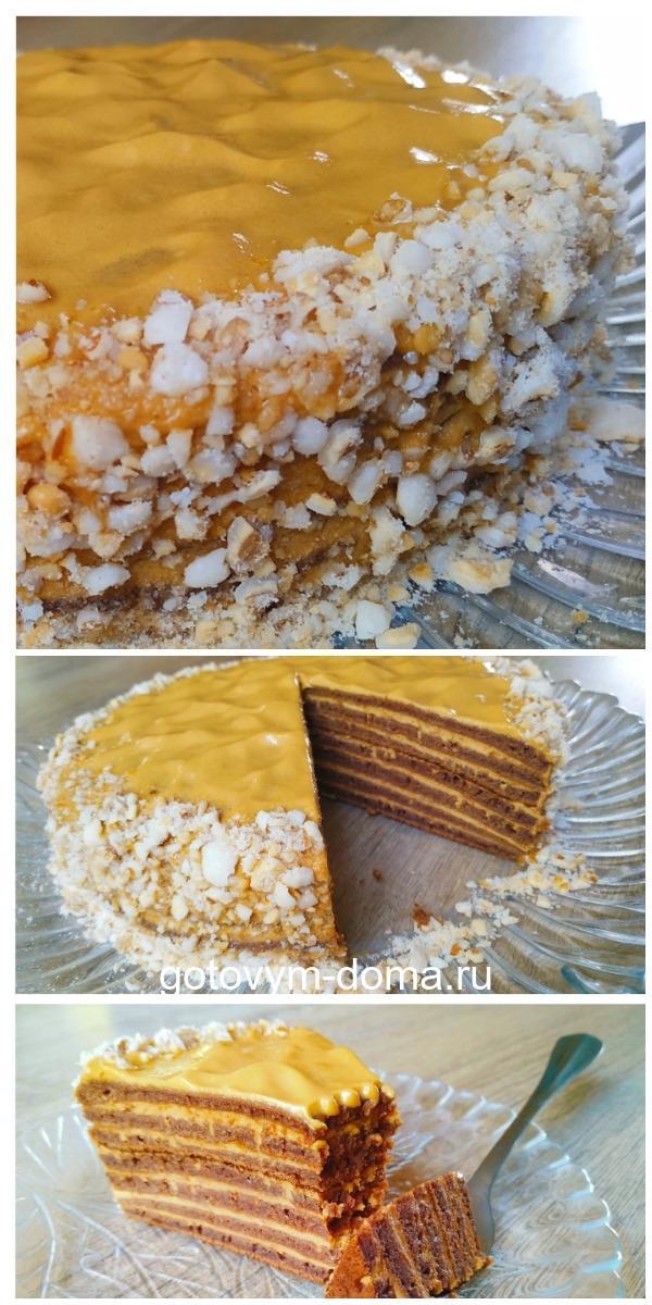 Шикарный торт на сковороде!