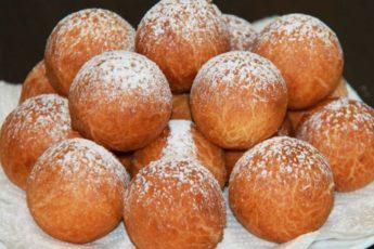 Рецепт обалденных творожных пончиков из детства 1