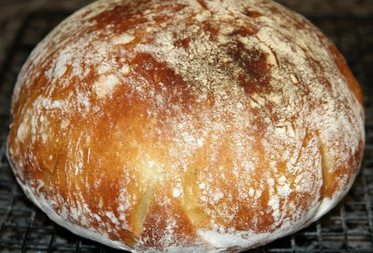 Хлеб без замеса, который получается у всех 1